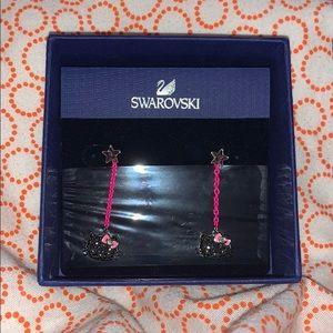 Swarovski Hello Kitty Earrings